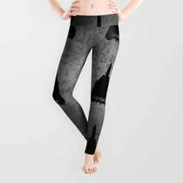 F-14 Tomcat Military Sweptwing Fighter Jet Leggings