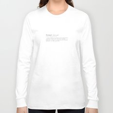 THE MEANING OF HYGGE Long Sleeve T-shirt