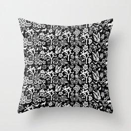 """Joshua Tree Pattern """"Yucca Bali"""" by CREYES Throw Pillow"""