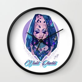 VIOLET CHACHKI - Passing the Crown Realness Wall Clock