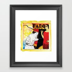 Feliz, the critic Framed Art Print