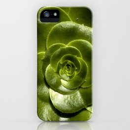 Green leave iPhone Case
