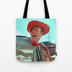 Woody rolls again! Tote Bag