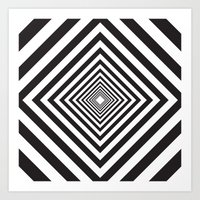 square Art Prints featuring Square by Vadeco