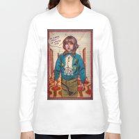 kubrick Long Sleeve T-shirts featuring *Hiss* *Crakle* Mr. Kubrick... *Crakle* by LeKolora