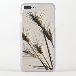 prairie wheat Clear iPhone Case