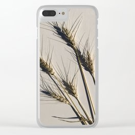 prairie wheat Clear iPhone Case