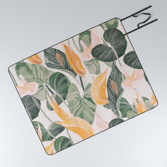 Lush Lily - Autumn Picnic Blanket