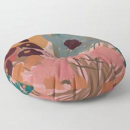 Spring Memory Floor Pillow