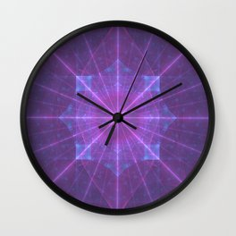 Infinite Power Grid Wall Clock