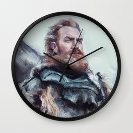 We are kissed by fire. Wall Clock