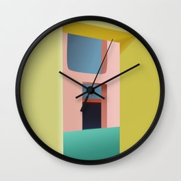 Entrance to Tranquility Wall Clock