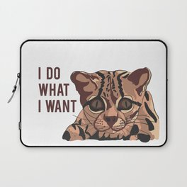 cat quote Laptop Sleeve