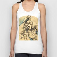 constellations Tank Tops featuring Constellations. Washerwomen.  by Iris V.