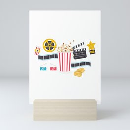 Movie Night Mini Art Print
