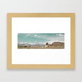 Sharks Fin, Lone Pine California Framed Art Print