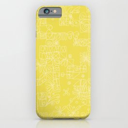 Be square. Be gorgeous. iPhone Case