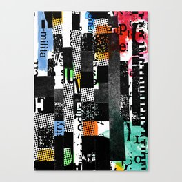 colored photocopy Canvas Print