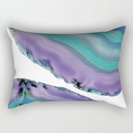 Agate Boho Chic #5 #gem #decor #art #society6 Rectangular Pillow