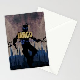 Jango Unchained Stationery Cards