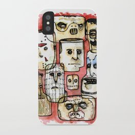 Oh The Horror iPhone Case