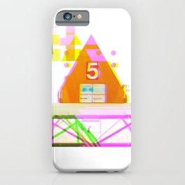 GLITCH NATURE #38: Imperial Beach iPhone Case