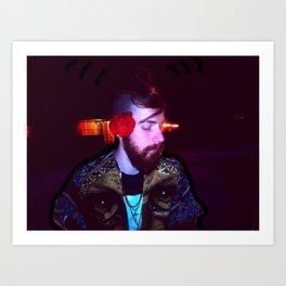 HUMAN WIFI Art Print