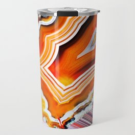 The Vivid Imagination of Nature, Layers of Agate Travel Mug