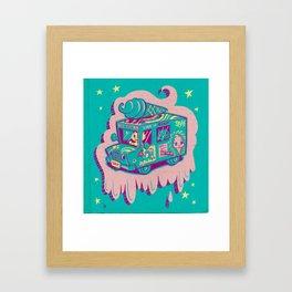 """I Scream """"Truck!"""" Framed Art Print"""