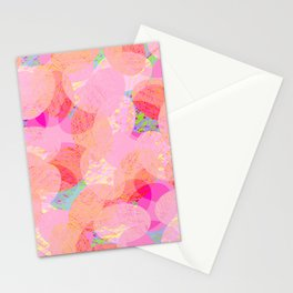 Soft Oval Texture Stationery Cards