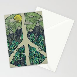 Peaceful Landscape Stationery Cards