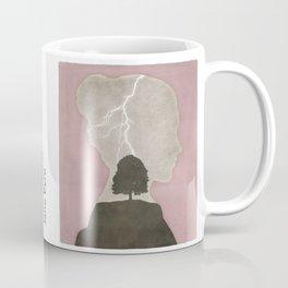 Charlotte Brontë Jane Eyre - Minimalist literary design Coffee Mug