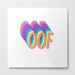 OOF Metal Print