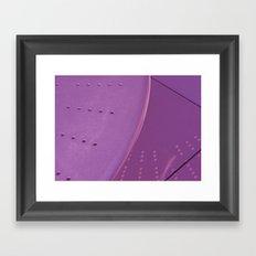 Violet Reflection Framed Art Print