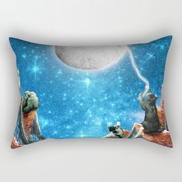 Feline Dreams Rectangular Pillow
