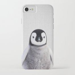 Baby Penguin - Colorful iPhone Case