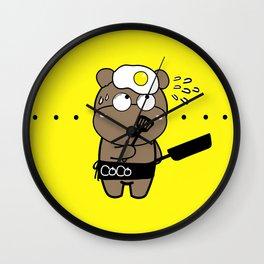 CoCo's Clumsy Wall Clock