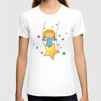 starry night T-shirts featuring Starry Night by Pigtails