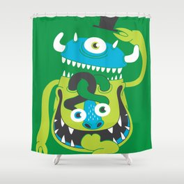Mister Greene Shower Curtain