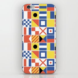 Nautical Flags iPhone Skin