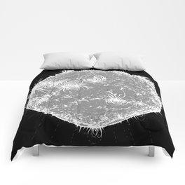 Large Sun Print, monochrome star design by Little Lark Comforters