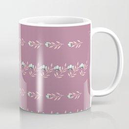 Rose Petal Pattern Coffee Mug
