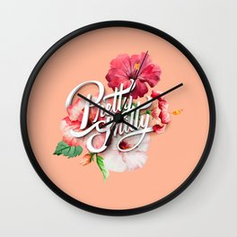 Pretty Sh*tty Wall Clock