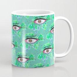 Crying Eye Pattern Coffee Mug