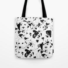 Dalmatian Dots Tote Bag