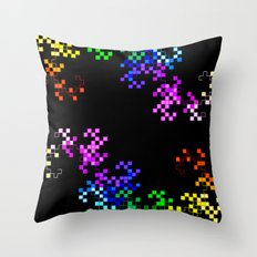 little squares again Throw Pillow