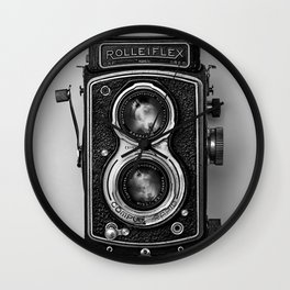Rolliflex Camera Wall Clock