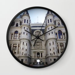 Philly Hall Wall Clock
