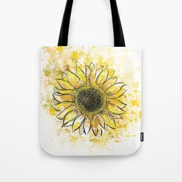 Sun/Flower Tote Bag