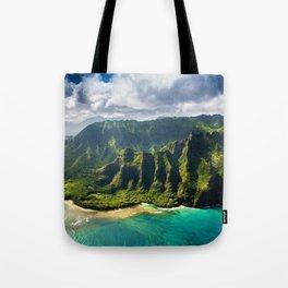 Island of Kauai, Hawaiian Islands Tote Bag